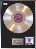 ROY ORBISON-LP Platinum Disc-THERES IS  ONLY ONE ROY--